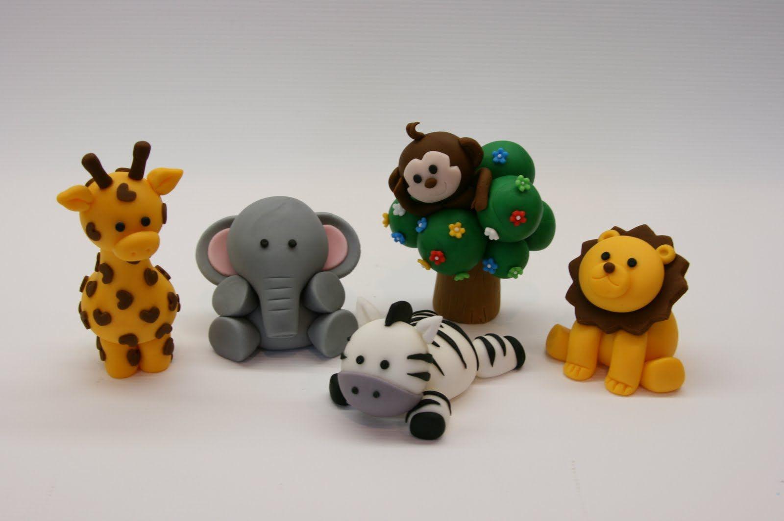Cake Decorations Safari Animals : Beautiful Kitchen: Safari Animal Cake Topper birthday ...