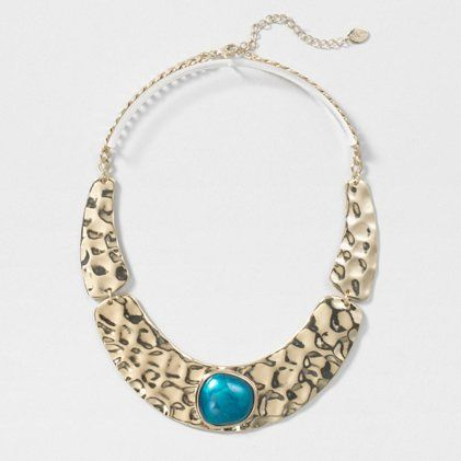 Statement Gold Collar Necklace
