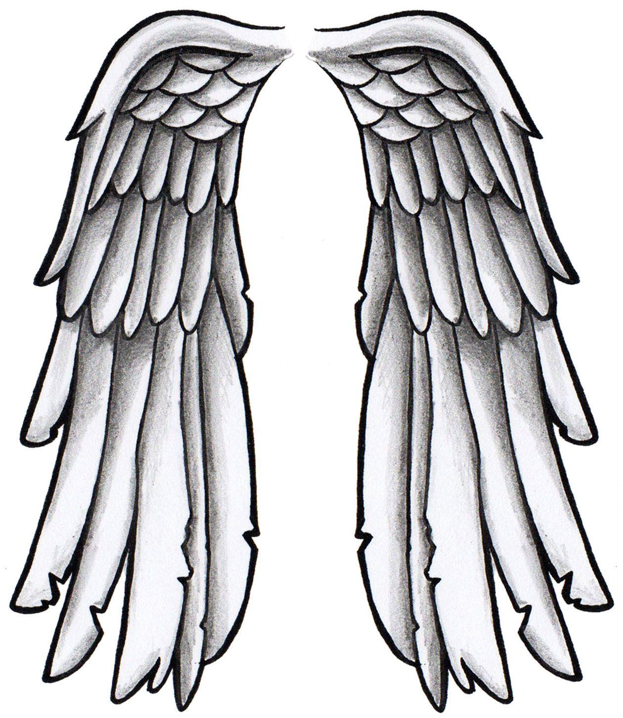 Wing tattoo design - Black And Grey Wing Tattoo Design Tattoo Tattoodesign Drawing Wings Blackandgrey