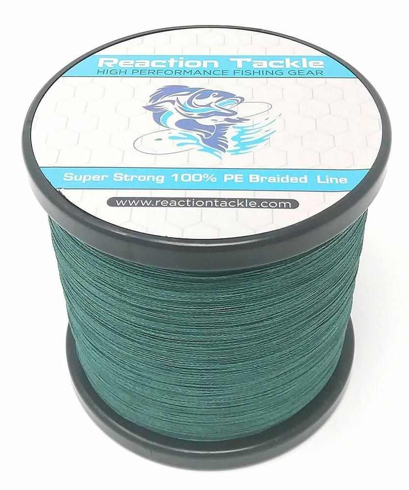 Reaction Tackle 100/% Pure Fluorocarbon Fishing Line