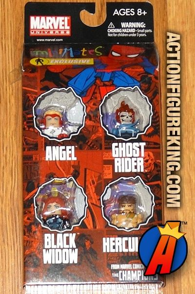 Marvel Minimates Champions Angel