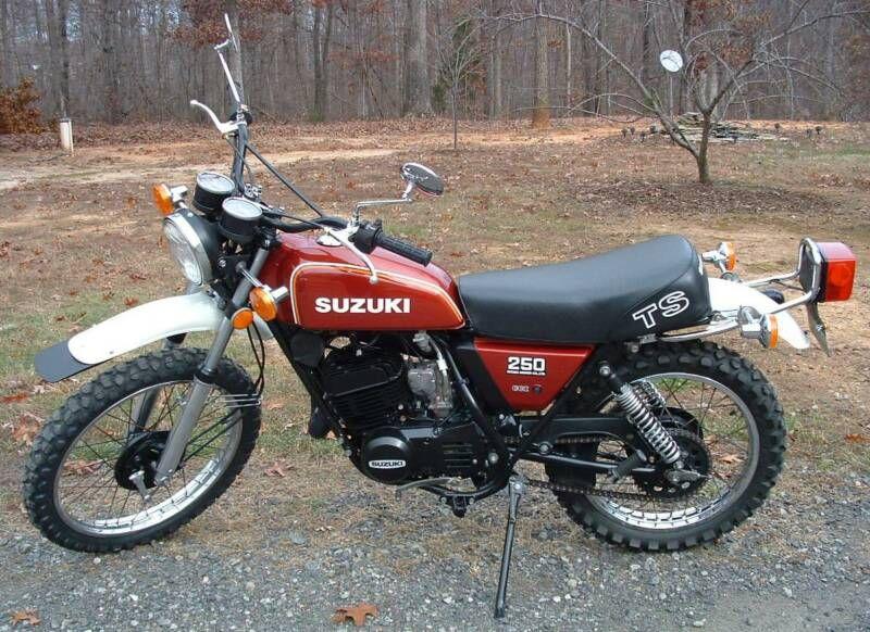 Randy S Cycle Service Restoration 1978 Suzuki Ts 250 Suzuki Bikes Vintage Honda Motorcycles Suzuki