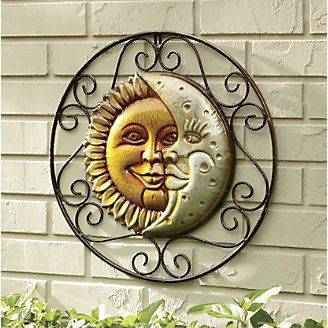 Sun And Moon Wall Hanging Decor