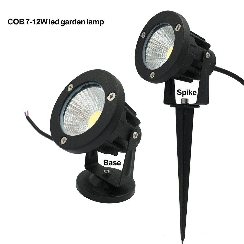 Garden Lights Kopen 220v 110v Outdoor Led Garden Light 9w 7w Cob Led Lawn Lamp 3w 5w