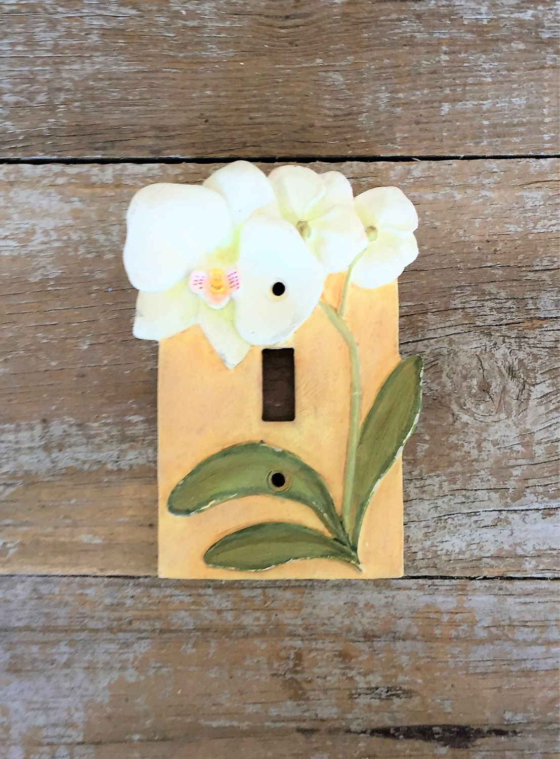 Light Switch Cover Single Decorative Light Switch Cover Flower Light ...