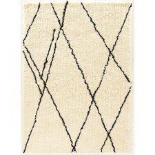 Minerva Ivory/Black Area Rug $200