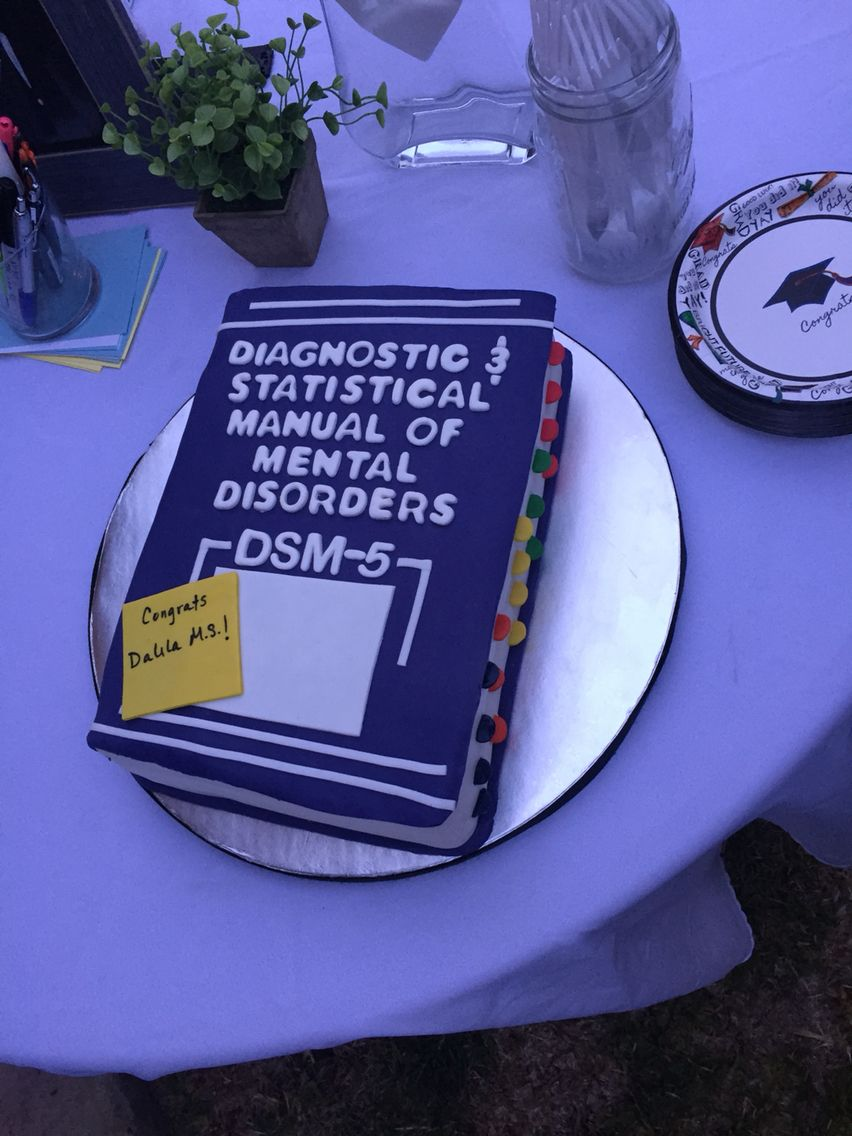 cake for psychology themed party