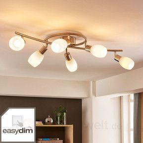 LED Deckenlampe Vince Rund Hell Ferbedienung Lampenwelt Dimmbar Farbwechsel CCT