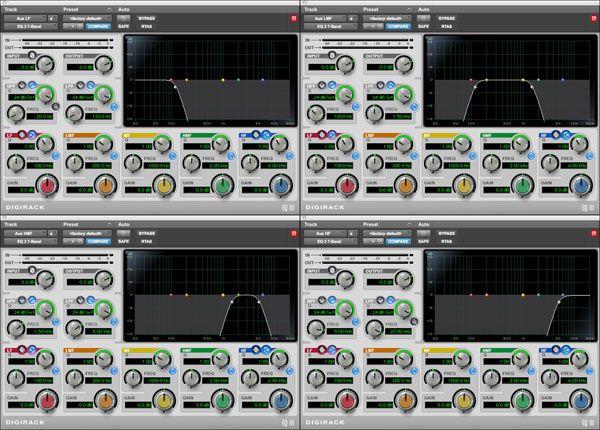 Digirack Plug Ins How To Create A Multi Band Compressor Avid Pro Tools Pro Tools Plugs