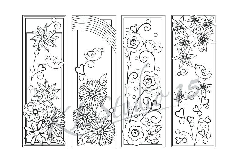 Zoom Bookmarks To Print Printable Quotes Happy Spring Coloring Page Coloring Bookmarks Coloring Bookmarks Free Spring Coloring Pages