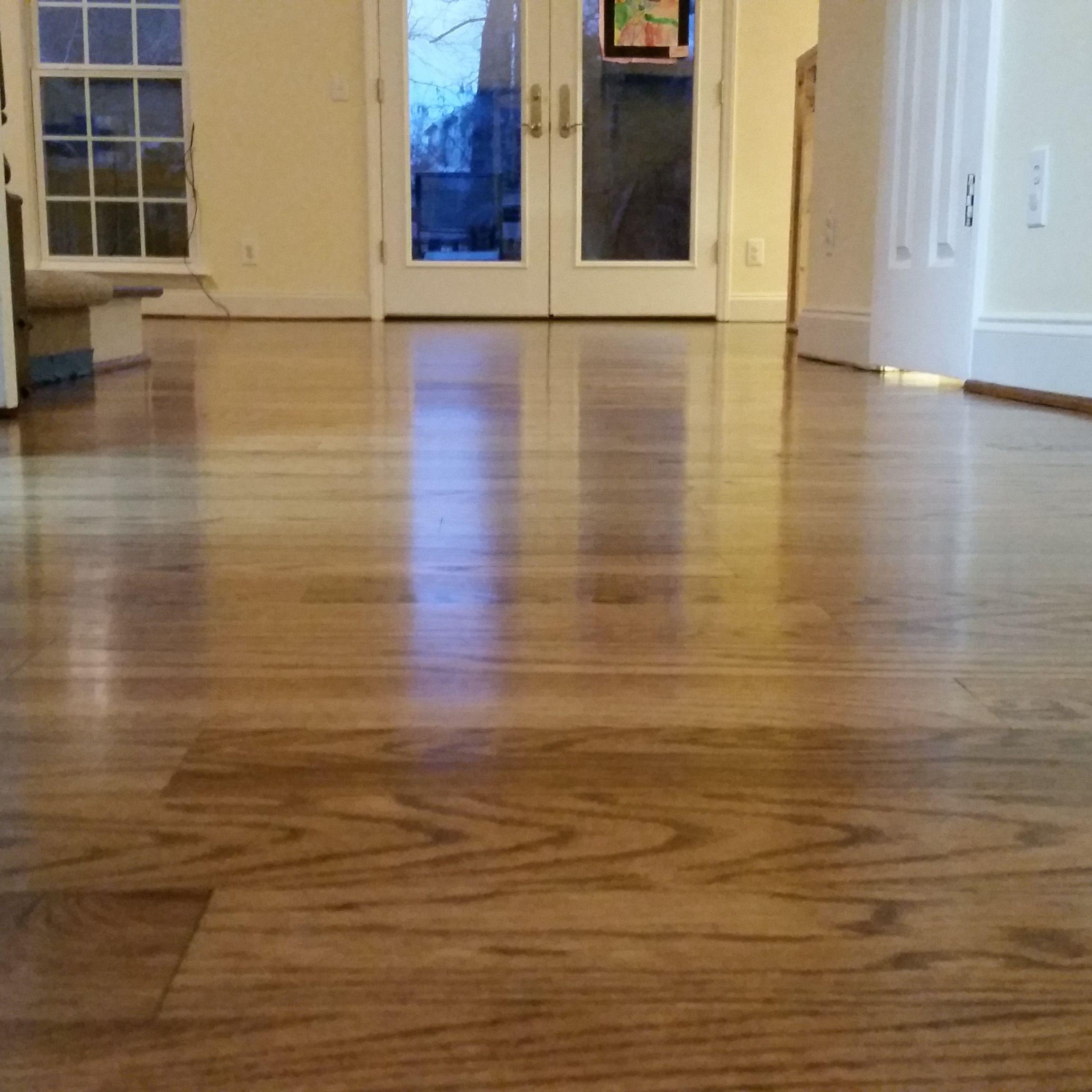 Dura seal provincial on 3 1 4 red oak hardwood floor for North wood flooring