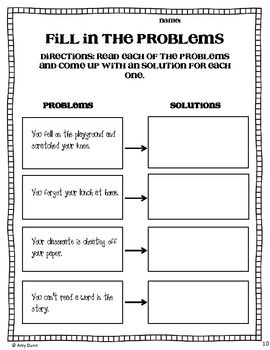Worksheet Problem And Solution Worksheets 1000 images about problemsolution on pinterest activities comprehension and any book