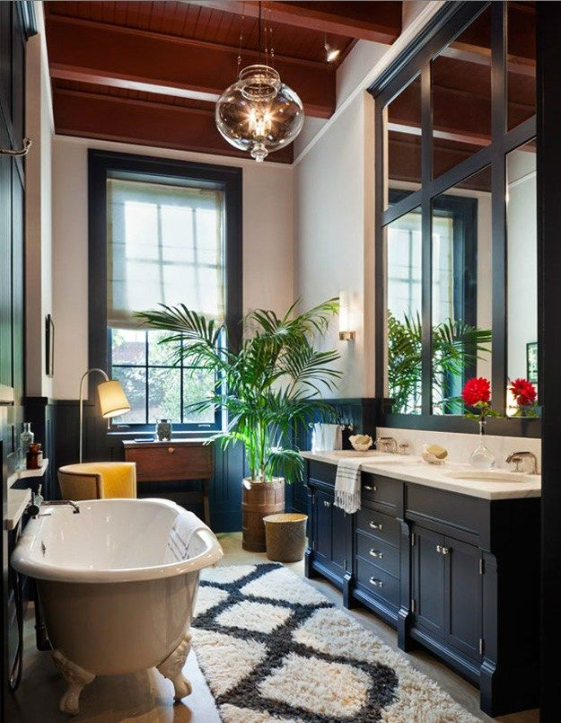 Fabulous Townhouse In New York City Modern Luxury Bathroom