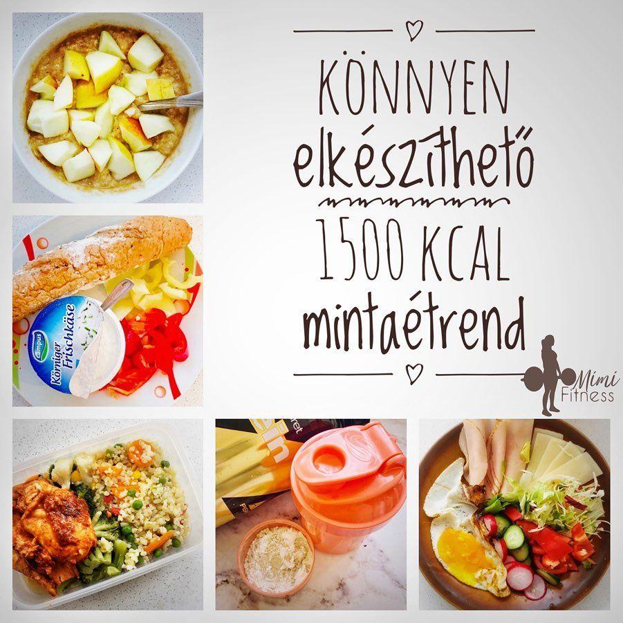 1500 kalóriás étrend nőknek)