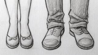 Markcrilley Youtube Feet Drawing Sketches Shoes Drawing