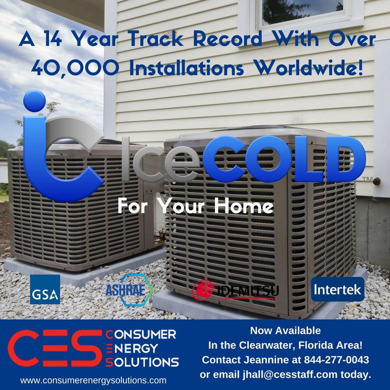 Icecold Energy Efficiency Energy News Clear Water