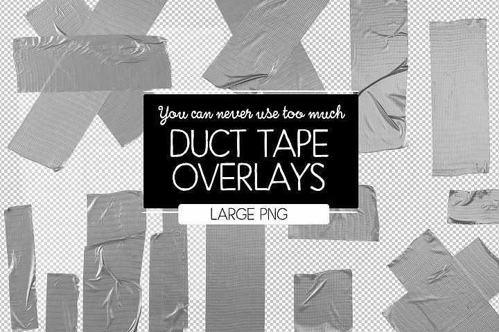 Duct tape overlays by after ten graphics design bundles overlays duct tape great for repair or making prom dresses this is a set of large transparent png images use as you like no commercial license needed fandeluxe Image collections