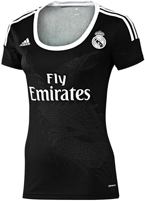 da7bcd46f72 Details about Adidas Real Madrid Dragon Ladies Women Shirt Jersey ...