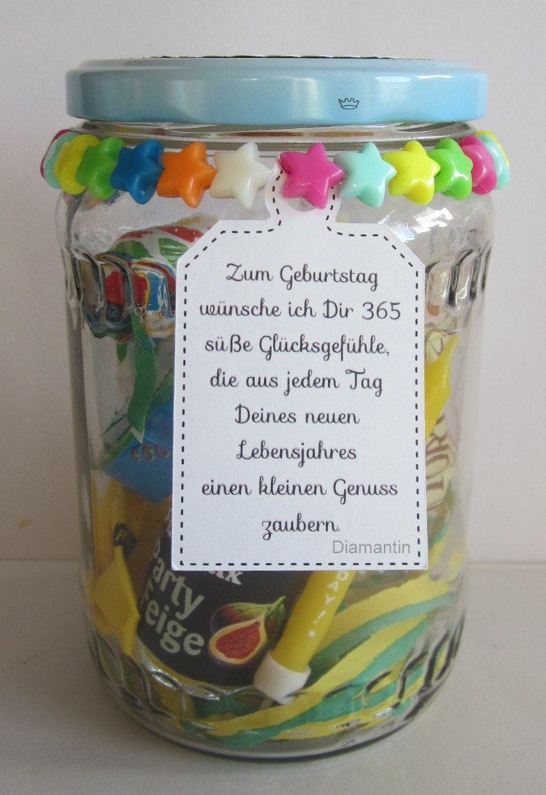 Diy Geschenke Zum Geburtstag Einfache Geschenkideen Im Glas 6