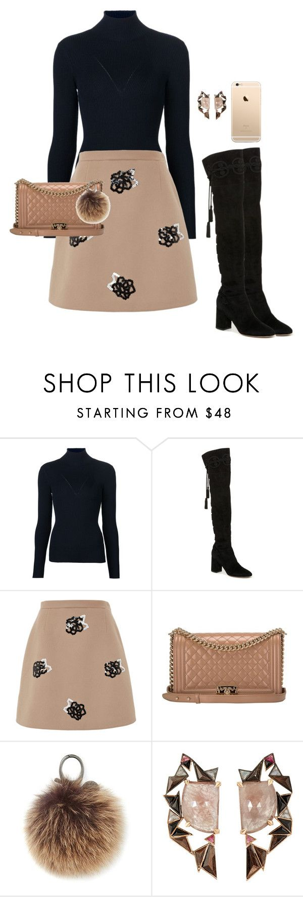 """Untitled #98"" by tired-unicorn ❤ liked on Polyvore featuring Maison Ullens, Dolce&Gabbana, Christopher Kane, Chanel, Rebecca Minkoff and Nak Armstrong"