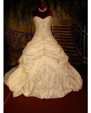 Lavish Wedding Dresses Bling Bling
