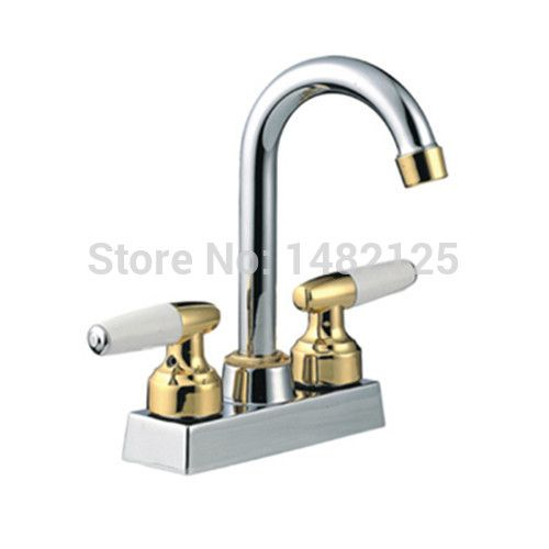 America Style 4 Inch Centerset Kitchen Faucet On Promotion Kitchen Faucet Cheap Kitchen Faucets Kitchen Handles