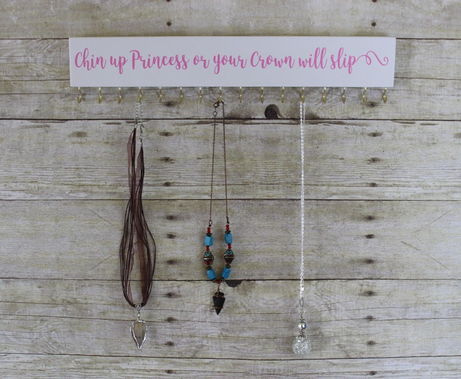 Hanging Necklace Organizer Necklace Hanger Jewelry Organizer