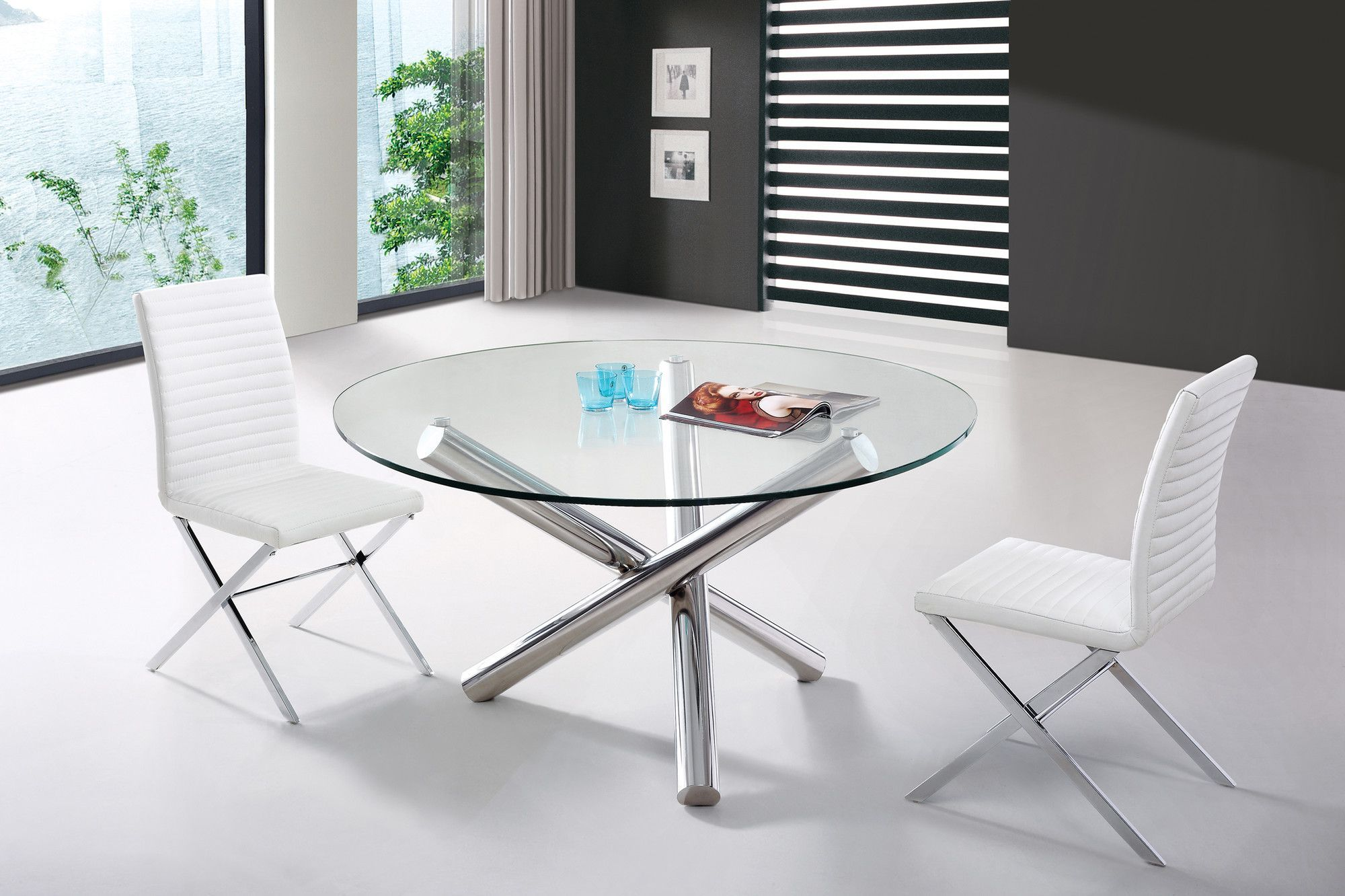 Modrest Frau Modern Round Dining Table Products