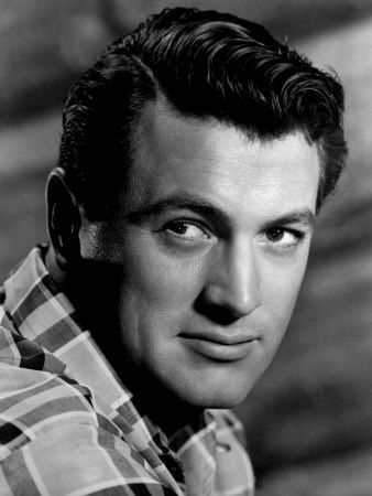 Rock Hudson Born Roy Harold Scherer Jr November 17 1925 Winnetka Illinois Usa Died October 2 1985 Aged 59 Beverly Hills Rock Hudson Photos Rock Hudson
