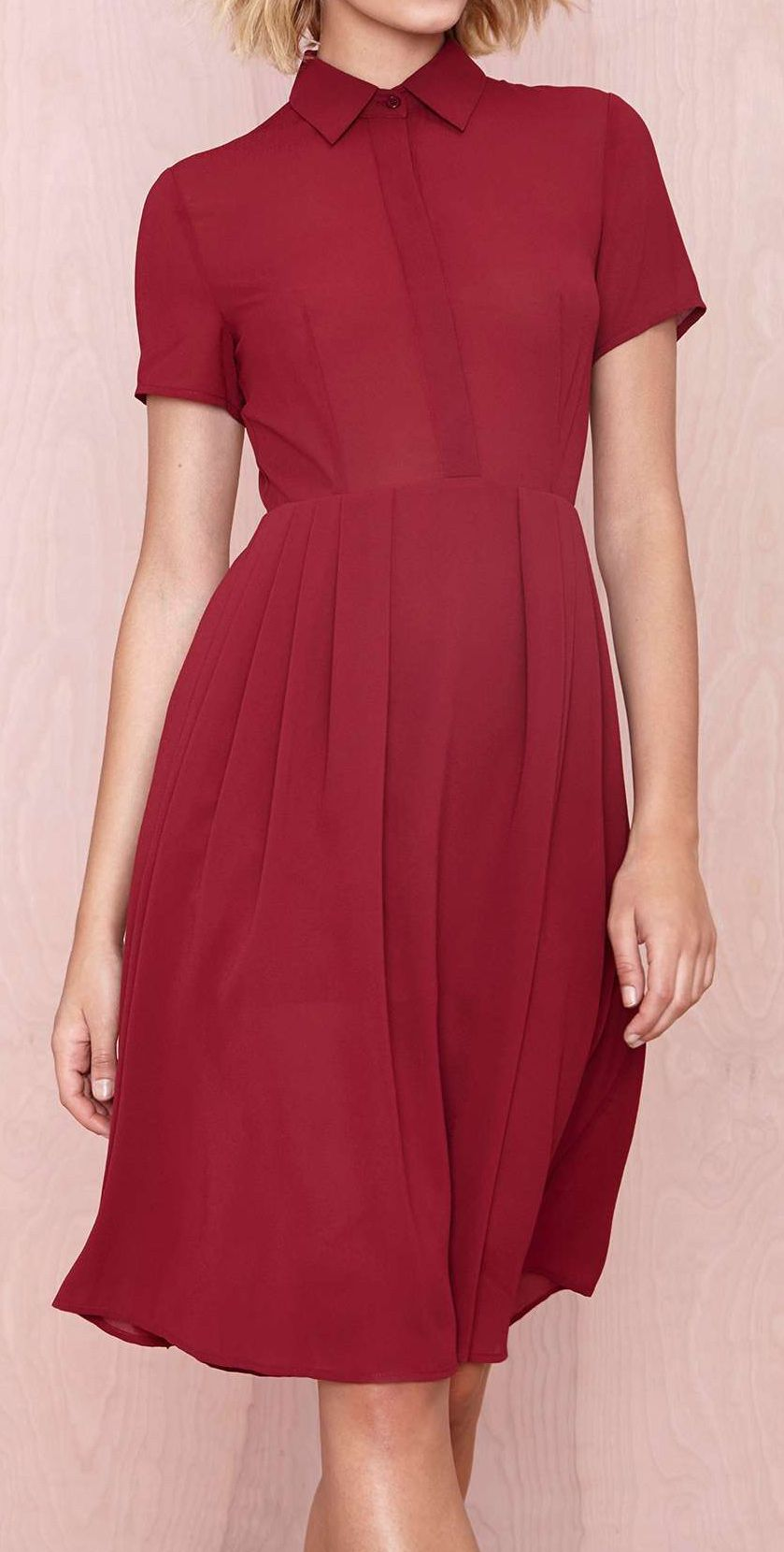Crimson midi dress dresses pinterest midi dresses clothes and
