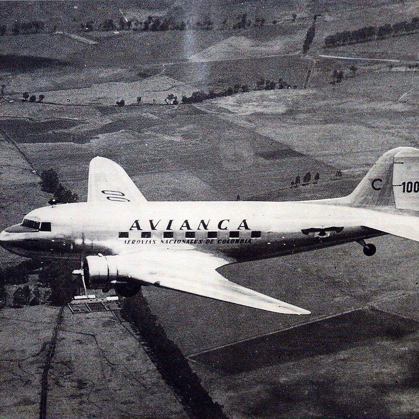 Dc 3 De Avianca Modelos De Aviones Aviones Aviones Comerciales