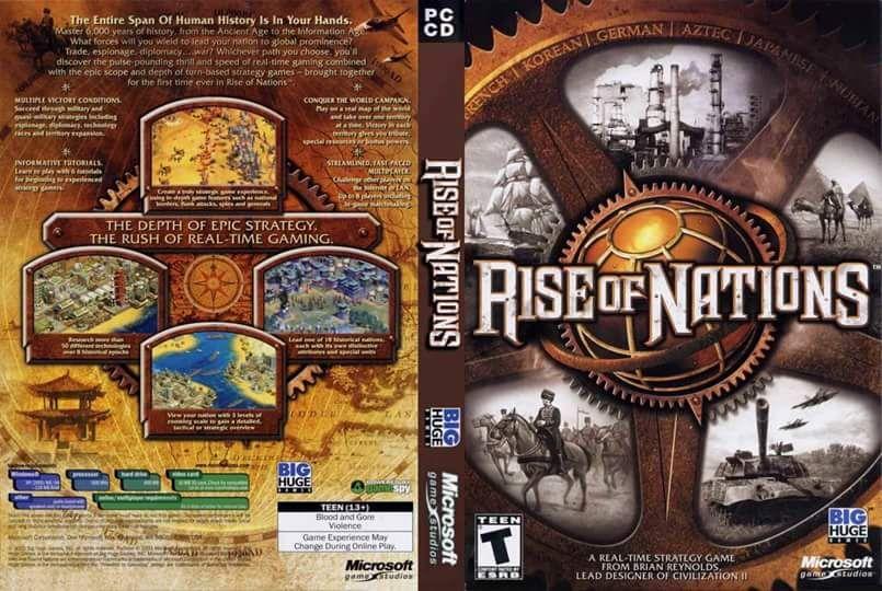 تحميل لعبة rise of nations