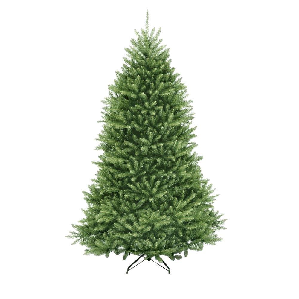7 5 Ft Unlit Dunhill Fir Artificial Christmas Tree Duh3 75 The Home Depot Best Artificial Christmas Trees Fir Christmas Tree Unlit Christmas Trees