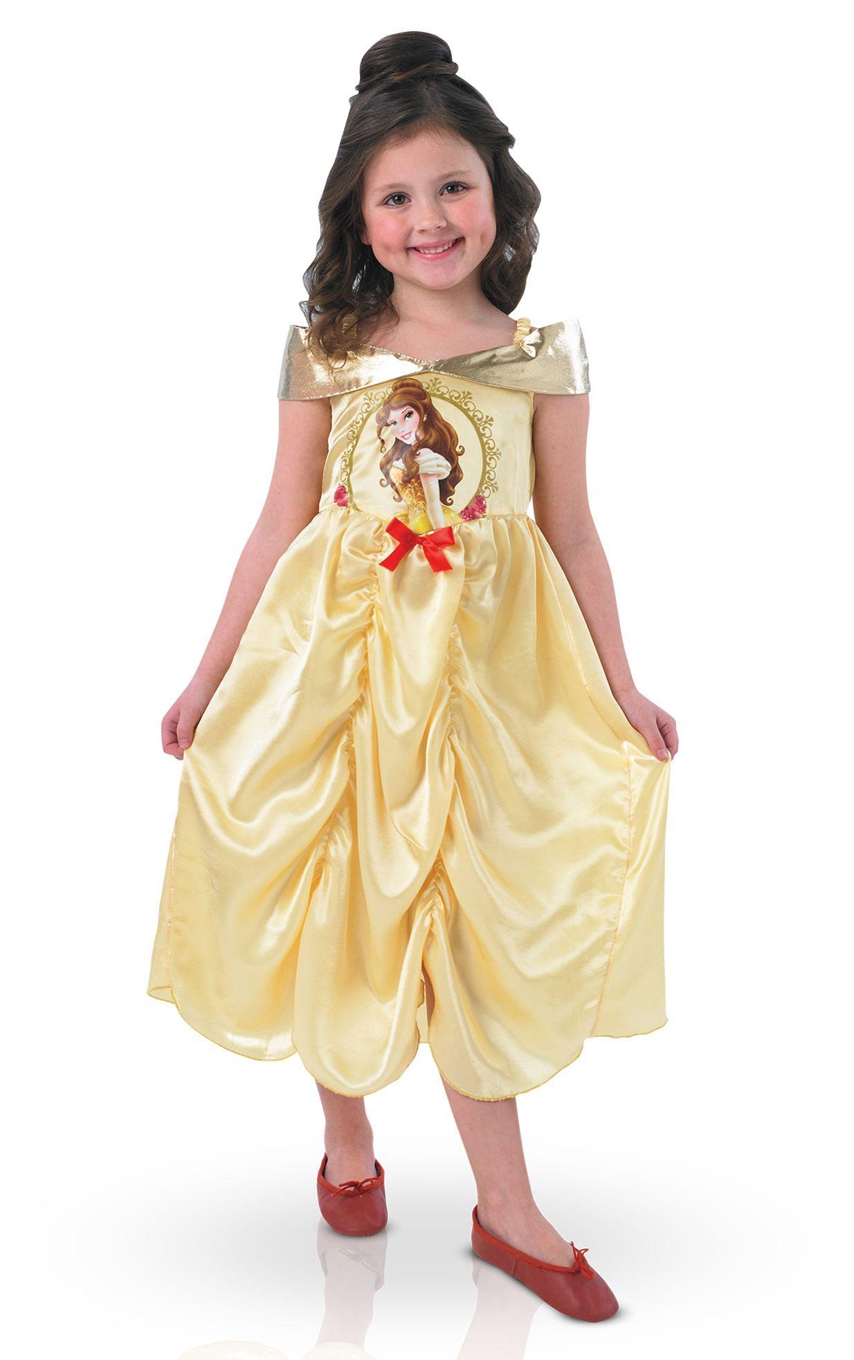 1c2afe97546af Déguisement classique Storytime Belle™ fille   Ce déguisement de Belle™  pour fille est sous