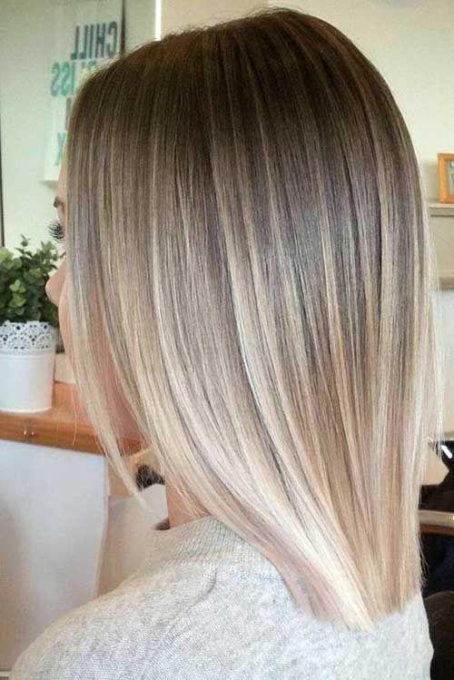 Balayage cabello corto lacio