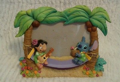 Rare Disney Store Exclusive Lilo And Stitch 4x6 Picture Frame See