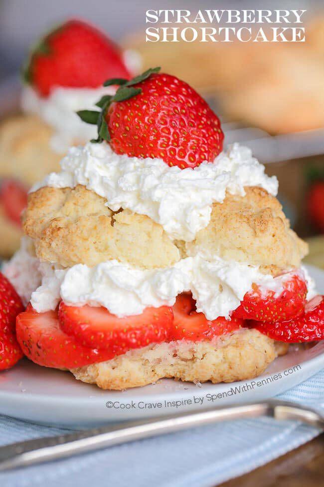 recipe: classic strawberry shortcake cake [20]