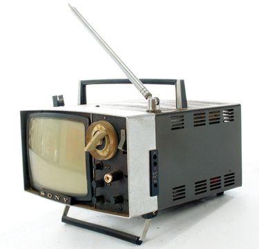 Vintage 1960's Portable Television Stock Photo - Image ...  |1960s Portable Televisions