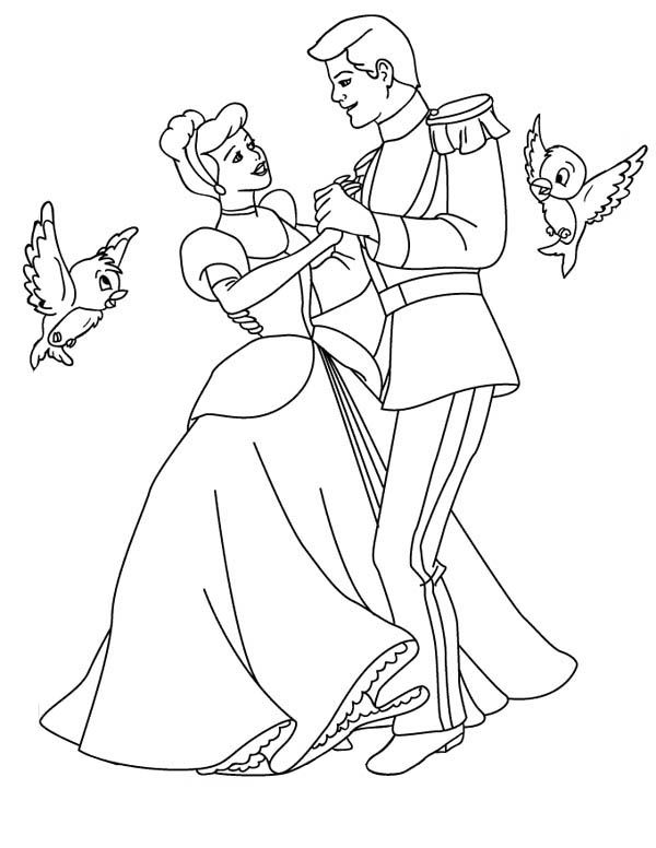 Printable-Cinderella-Coloring-Pages.jpg (600×776) | cadres couleur ...