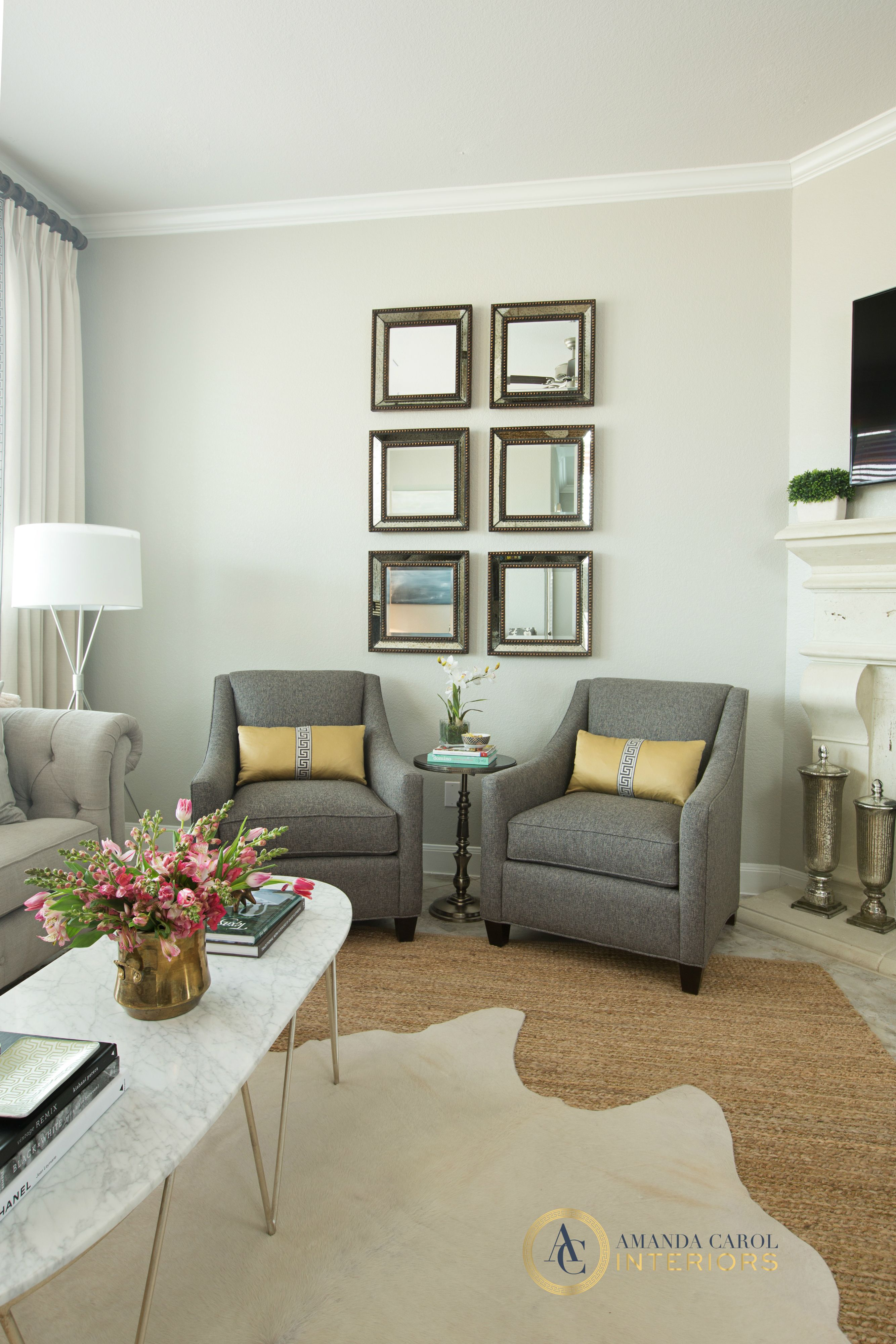 Lovely Living Room and Dining Room Paint Colors
