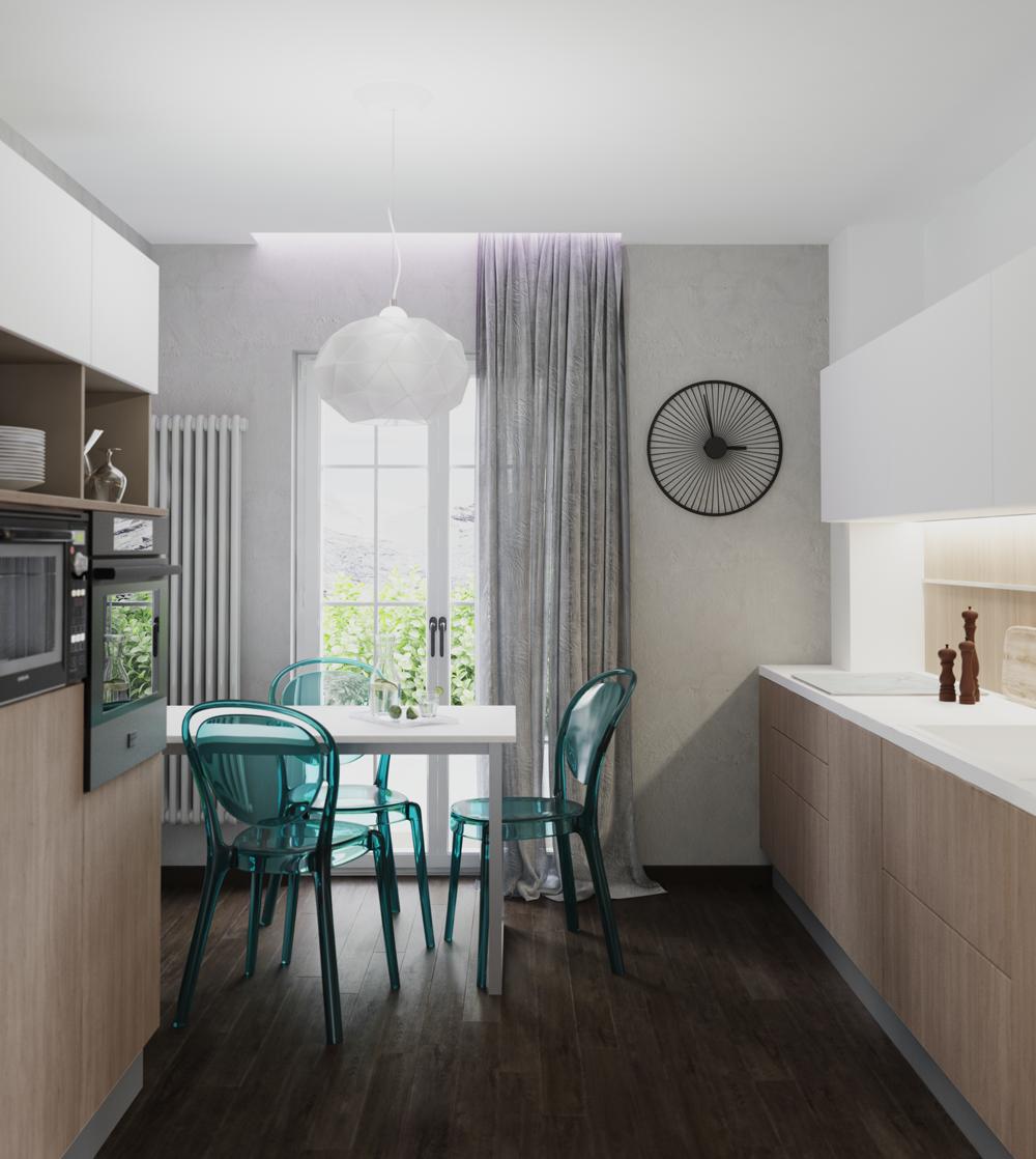 Photo of Arredare soggiorno e cucina insieme open space
