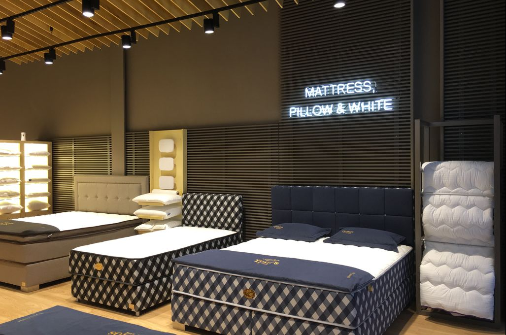 Gevorest Linen And Mattresses Store Kings Avenue Mall Paphos Cyprus Iidsk Interior Design Amp Construction Ev Dekorasyonu Tasarim Showroom