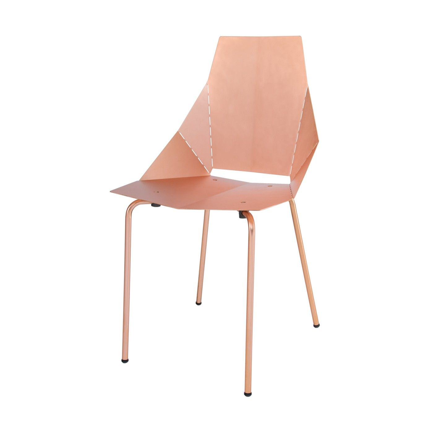 Copper Real Good Chair, Worth Every Penny. A Modern Dining Chair Uniquely  Crafted With Copper Finish. Copper Dining Chairs And Modern Seating At Blu  Dot.