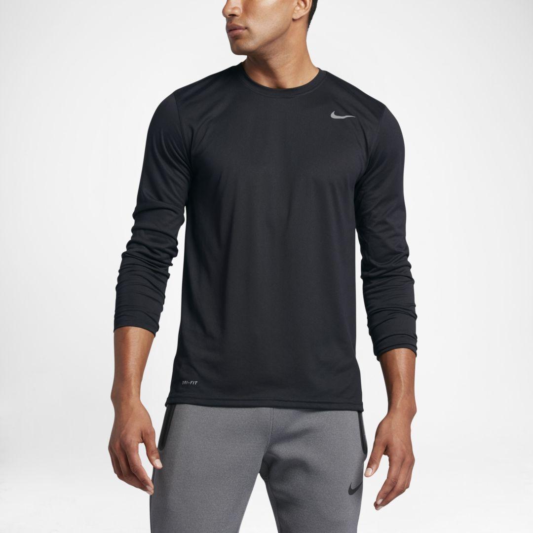 537beefd Nike Dri-FIT Men's Long Sleeve Training Top Size 3XL Tall (Black)