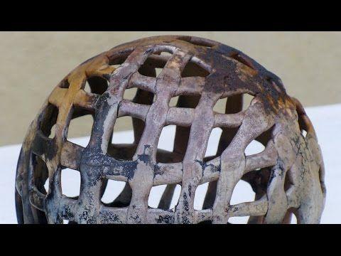 Keramik Gitterkugel - YouTube