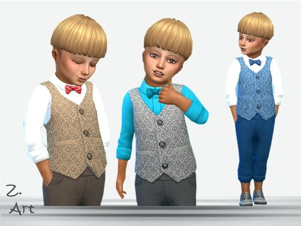 sims 4 cc // custom content toddler clothing // the sims resource
