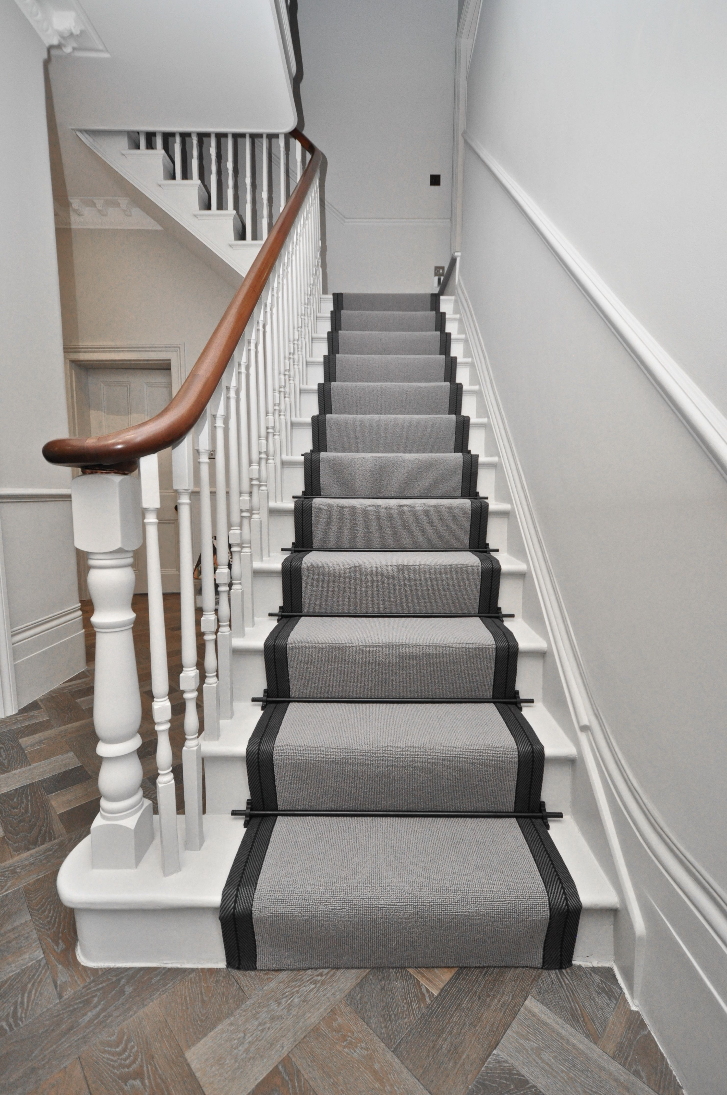 5022 wool stair runners bowloom wool carpet bound with
