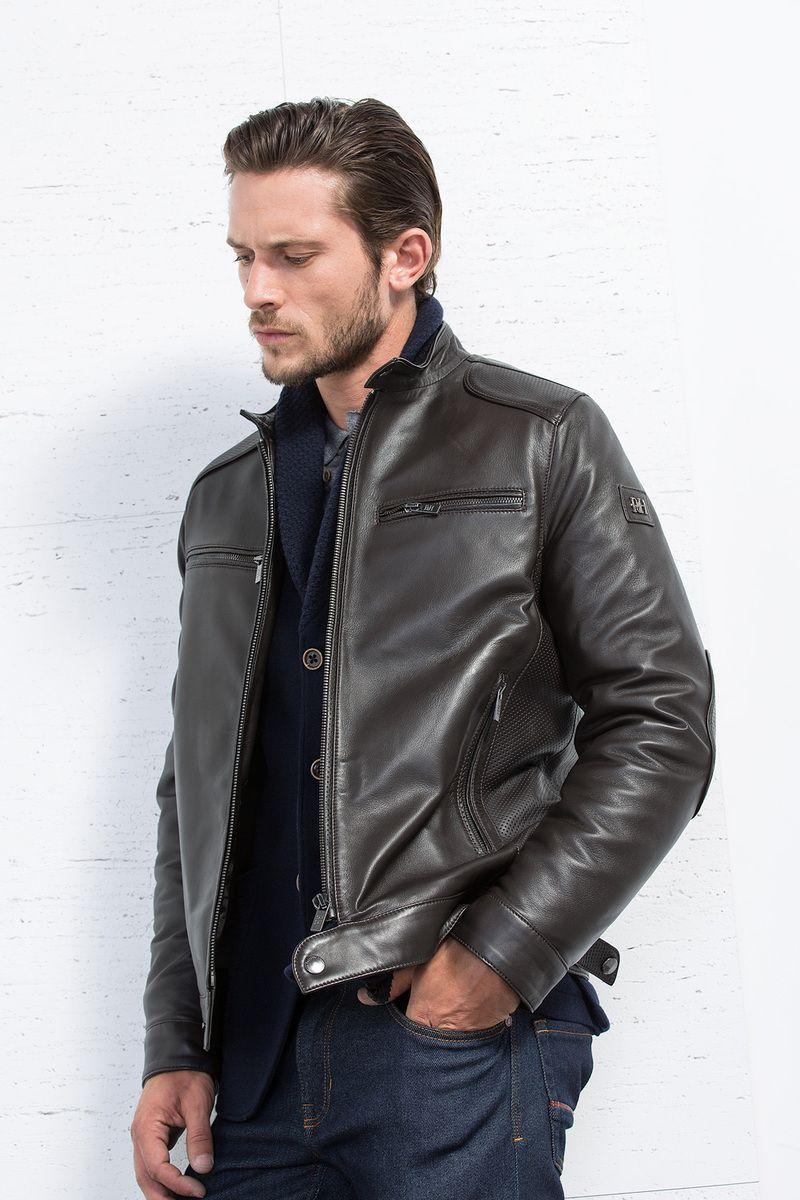 Essenciais De Outubro O Tipico Casaco Estilo Rock Star Pedrodelhierro Leather Jacket Men Men S Leather Style Leather Jacket [ 1200 x 800 Pixel ]