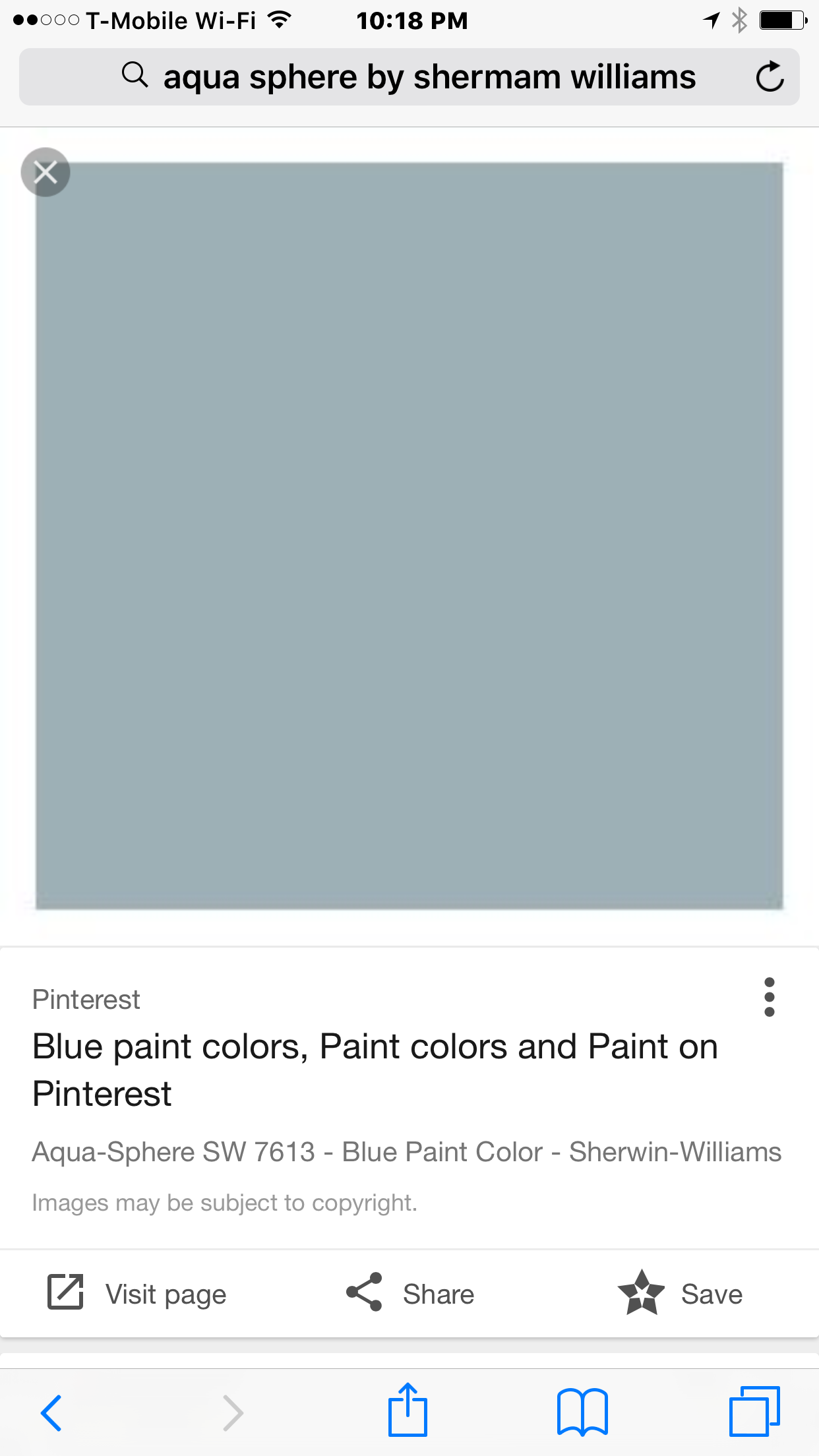 Aqua Sphere By Sherman Williams Find This Pin And More On Paint Colors