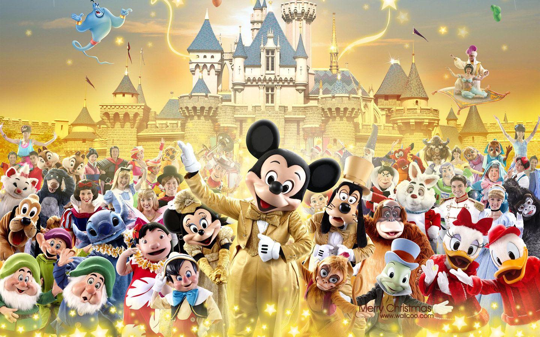 Hong Kong Disneylands Christmas Wallpaper 28261